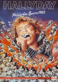 Cover Johnny Hallyday - Palais des Sports 1982 [DVD]